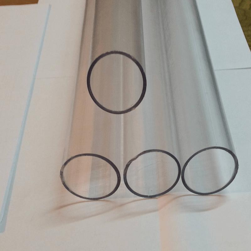 انواع لوله پلیکا شفاف